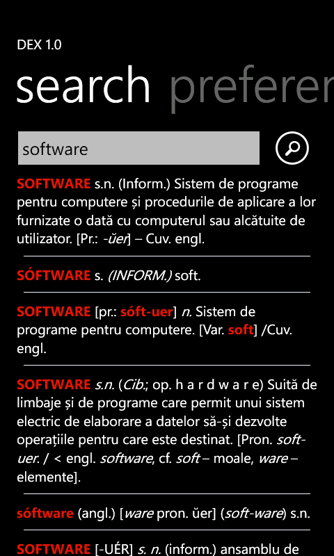 DEX for Windows Phone Main